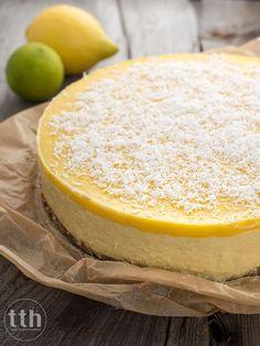 Sernik jaglany z mango bez pieczenia - przepis weganskie, bezglutenowe, bez cukru