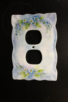 Forget-me-not flowers handpainted on a by RosebudStudiosChina