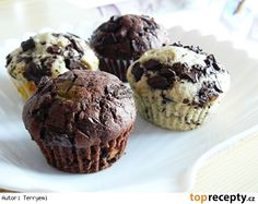 Muffiny s kousky čokolády Mini Desserts, Sweet Recipes, Cake Recipes, Cap Cake, Sweet Cooking, Christmas Sweets, Desert Recipes, 4 Ingredients, Nutella