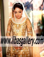 Vast selection of Bunto Kazmi pakistani designer dresses,pakistani wedding dresses, Bunto Kazmi wedding lehenga,Bunto Kazmi bridal lehenga,pakistani bridal dresses,pakistani bridal lehenga,anarkali suits,pishwas,pakistani men's Sherwani kurta, silver jewelry,wedding jewellery,pakistani boutiques usa, pakistani boutiques uk, pakistani boutiques canada, pakistani boutiques australia,buy Pakistani dresses online.Luxurious Bridal Dress with Attractive Lehenga for Wedding www.libasgallery.com