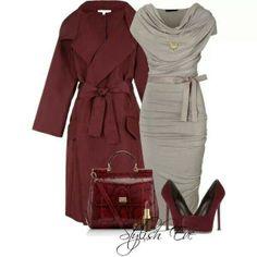 Nice winter business attire