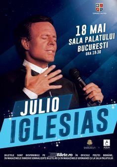 Miercuri, 18 Mai 2016, ora 19:30, Sala Palatului, Bucuresti