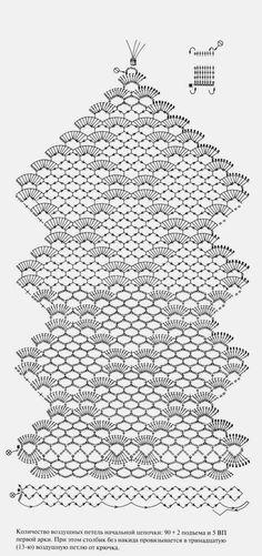 Super Ideas For Knitting Crochet Table Runner Filet Crochet, Crochet Motifs, Crochet Stitches Patterns, Doily Patterns, Crochet Chart, Thread Crochet, Lace Knitting, Crochet Doilies, Knit Crochet