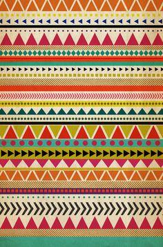 AZTEC Art Print by Allyson Johnson | Society6