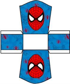 Spiderman Free Printable Kit.