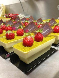 Le fraisier de Sébastien Bouillet, chocolatier à Lyon