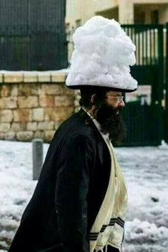 snow in Israel  2013