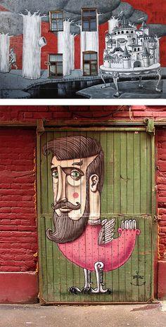 Street Artist: Kislow