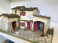 MODELES ...........2018 CHOISISSEZ LE MODÈLE QU 'IL VOUS FAUT LE VIEUX PRESSOIR A SCOURTINS SEUL OU AVEC LE B... Miniature Crafts, Miniature Houses, Christmas Crib Ideas, Scale Model Homes, Fontanini Nativity, Doll House Crafts, Christmas Nativity Scene, Ceramic Houses, Home Candles