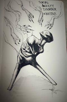 Pour les artistes, le mois d'octobre est synonyme de l'Inktober, ce défi impliquant de réaliser et de poster un dessin par jour. Shawn Coss a décidé de participer à ce défi... Cependant, tous ses dessins ont comme sujet un thème assez original : le...