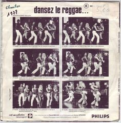 Dancez le reggae. Same back sleeve photo sequence as on that for Max Romeo's One Step Forward.