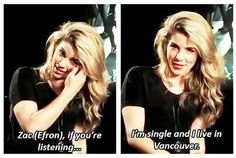 Emily Bett Rickards.... this is why her and i are soulmates XD