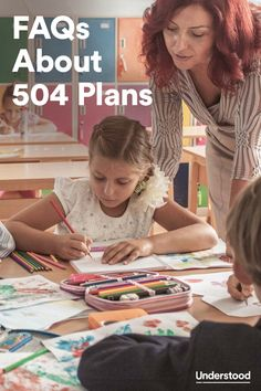 Understanding 504 Plans If your child has learning and attention issues and is struggling in school, you may be curious about 504 Plans. If your child doesn't qualify for an Individualized Education Program (IEP), a 504 Plan may be a good alternative. Teaching Special Education, Teaching Resources, 504 Plan, School Social Work, School Psychology, Learning Disabilities, School Counselor, Teacher Hacks, Elementary Schools