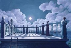 Widow's Walk by Rob Gonsalves
