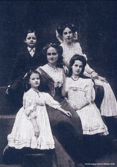 Mr Selfridge's family...