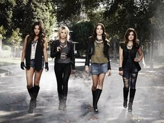 Pretty Little Liars stars Shay Mitchell, Ashley Benson, Troian Bellisario and Lucy Hale.