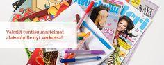 Mediakasvatus | Aikakausmedia Newspaper, Polaroid Film, Journaling File System, Magazine