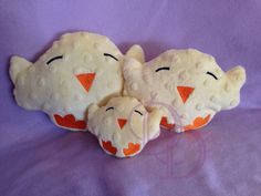 Baby Chick Stuffie Stuffed Embroidery Machine Design Doll ITH