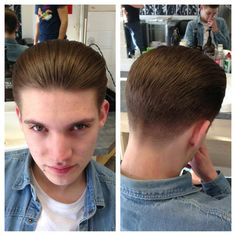 Medium length hair styles are the trend these days when it comes to men's looks. These styles are simple to create and give men suave and well groomed looks with a bit of flair. Mens Medium Length Hairstyles, Slick Hairstyles, Hair Trends 2015, Mens Hair Trends, Summer Haircuts, Haircuts For Men, Hair Art, Men's Hair, Slicked Back Hair