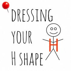 How to dress for an H shape body type