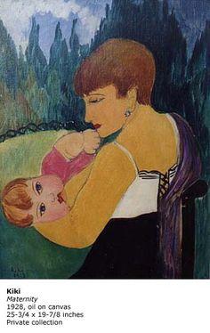 kiki, maternity, 1928. Maternity, Painting, Art, Art Background, Painting Art, Kunst, Paintings, Performing Arts, Painted Canvas