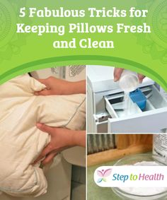 5 Fabulous Tricks for #Keeping Pillows Fresh and Clean   Keeping #pillows #fresh and clean is very important if you want to make sure they stay in a #hygienic state, and are #suitable for everyday use.