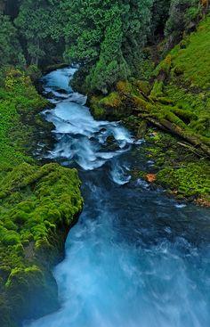 Beautiful McKenzie River, Oregon