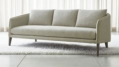 Rhys Bench Seat Sofa at Crate and Barrel Canada. Discover unique furniture and decor from across the globe to create a look you love. Leather Bench Seat, Best Leather Sofa, Black Leather Sofas, Deck Furniture, Upholstered Furniture, Furniture Design, Furniture Dolly, Furniture Online, Sofa Design