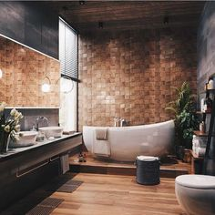 Best Small Bathroom Ideas - Minimalist, On Budget, and GOAT Minimal Interior Design Inspiration Interior Design Examples, Interior Design Inspiration, Design Ideas, Layout Design, Design Dintérieur, Render Design, Design Studio, Design Trends, Bad Inspiration