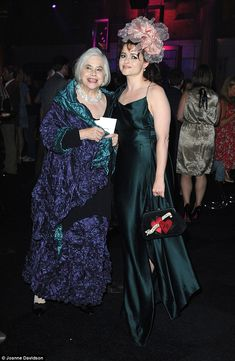 Like mother, like daughter: Elena, pictured here with Helena at the Harry Potter and the Deathly Hallows: Part 2 premiere in 2011 is a regular red carpet companion for the actress