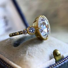 Ideal Cut Diamond, Rose Cut Diamond, Marquise Diamond, The Bling Ring, Victorian Engagement Rings, Diamond Cluster Ring, Diamond Rings, Diamond Are A Girls Best Friend, Beautiful Rings