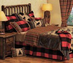 Lumberjack & moose bedding   Woodsman II Lodge Bedding - Free Shipping!