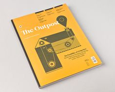 The Outpost / issue 2 on Behance