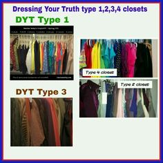 Dyt type 1,2,3,4 closets