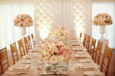 Tendencias para bodas 2016: decoración romántica #bodas #elblogdemaríajosé #decoraciónboda #tendenciasbodas