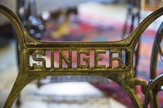 It's the little details that make this Singer sewing machine table so special. Watch the #JunkGypsies work their magic again this Thursday!