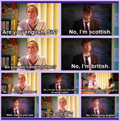 This was so brilliant. Catherine Tate and David Tennant- Comic relief
