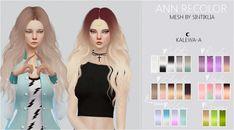 Kalewa-a: Sintiklia Ann Recolor • Sims 4 Downloads