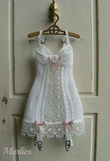 Marlies and minis - the lingerie is superb - one of my favourite miniature artisans