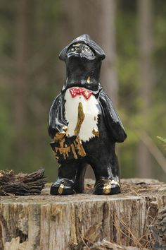 The Tale of Balaclava Bear by Alex Goldberg, via Behance