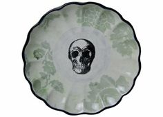 Apartment 48 - Shop - Kitchenware - Skull Plate - Home Furnishings and Interior Design - New York City on Wanelo