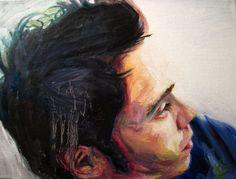 Custom Portrait Oil Painting by Krystal Booth Fine Art on etsy Office Art, School Office, High School, Computer Art, Krystal, Custom Art, Art Blog, Etsy Store, Oil On Canvas