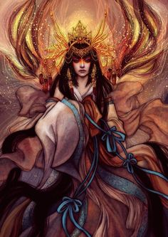 Asian inspired vii - Gorgeous Illustrations by Gracjana Zielińska  <3 <3