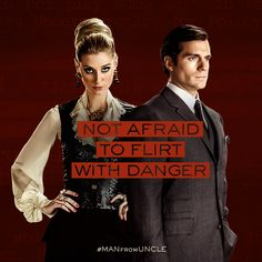 Anything goes in the fight to save mankind. | The Man from U.N.C.L.E.