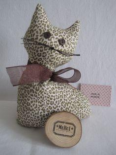 Cale porte chat cat doorstop sewing couture - Comment faire tenir un boudin de porte ...