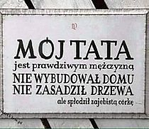 Już wiem, co dam tacie na dzień ojca ;) Man Humor, Motivation Inspiration, Kids And Parenting, Motto, Positive Vibes, Life Lessons, Texts, Inspirational Quotes, Wisdom