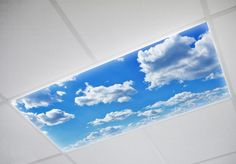 Buy cloud fluorescent light covers and beautify your homes and workplaces in an instant! UL Certified and perfect for doctors offices.