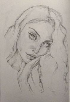 F FineartphotographyF Fineartphotography- art sketches - art art sketches sketches- art sketches - art art sketches sketches▷ 1001 + ideas for drawing a girl - tutorials and picturesClose-up of a female face drawing, how to Girl Drawing Sketches, Cool Art Drawings, Pencil Art Drawings, Drawing Ideas, Girl Sketch, Drawing Drawing, Portrait Sketches, Sketch Art, Drawing Poses