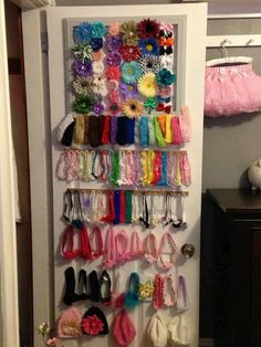 Ribbon and bow holders