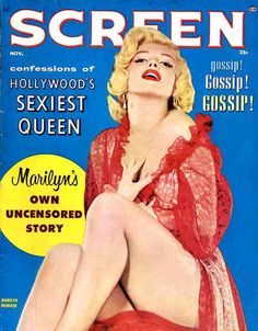 Screen Magazine Marilyn Monroe from 1956